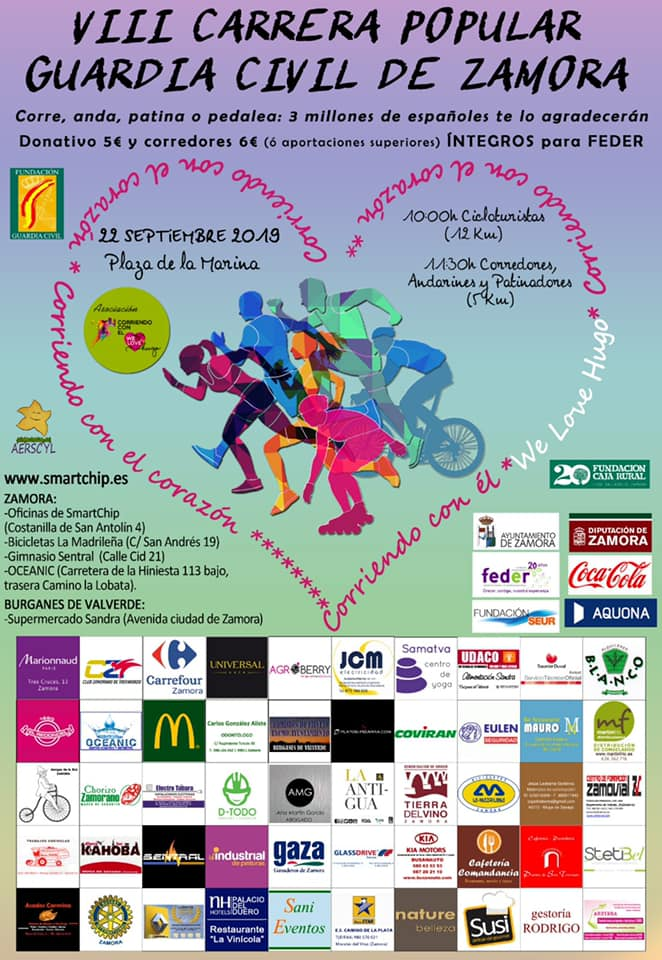 VIII Carrera Guardia Civil Zamora – FEDER