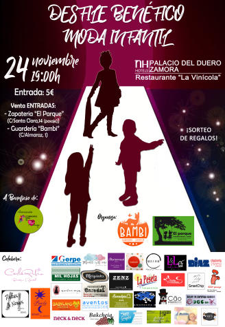 Desfile de moda infantil para luchar contra las enfermedades raras