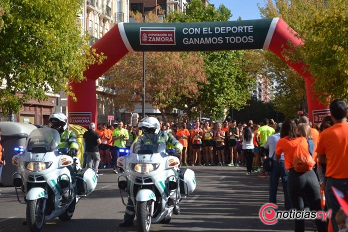 Casi 4.000 corazones laten en la carrera de la Guardia Civil