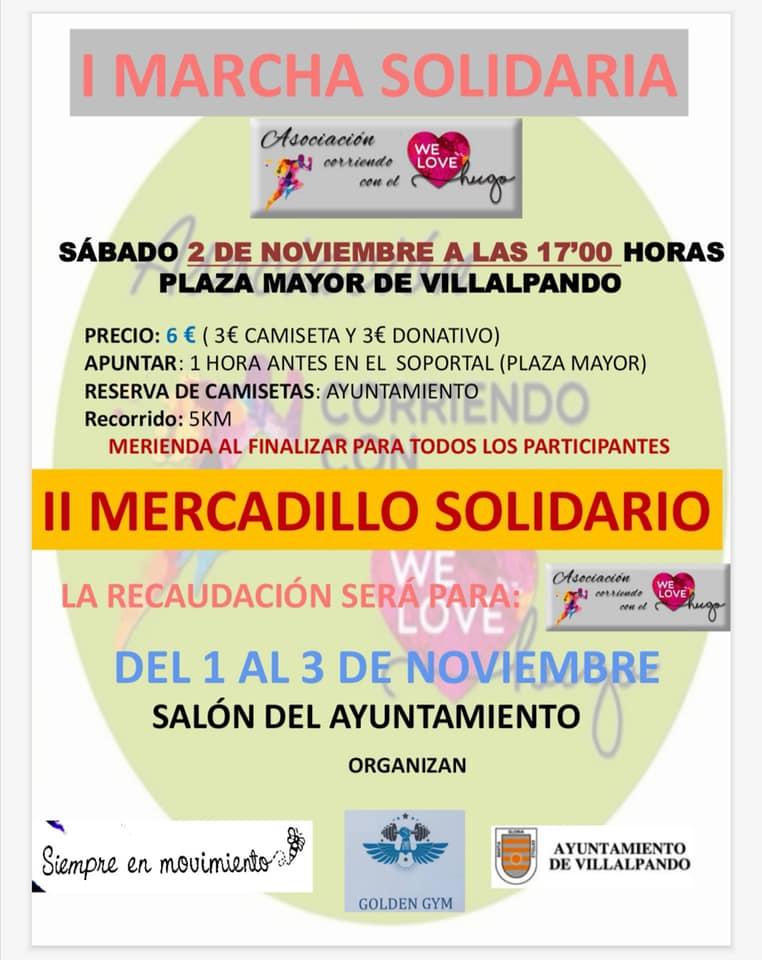 """Villalpando acoge el sábado una marcha en favor de """"Corriendo con el Corazón"""""""