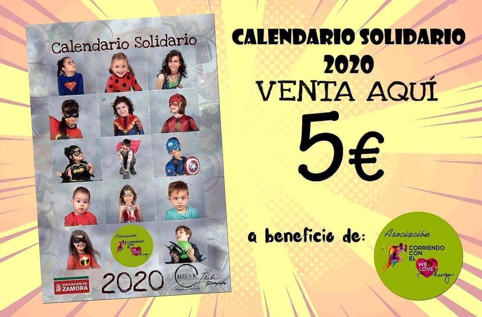 Calendario Solidario 2020 Puntos de Venta
