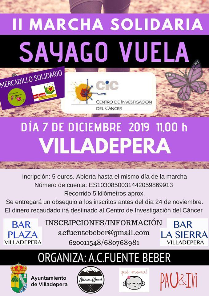 II Marcha Solidaria Sayago Vuela