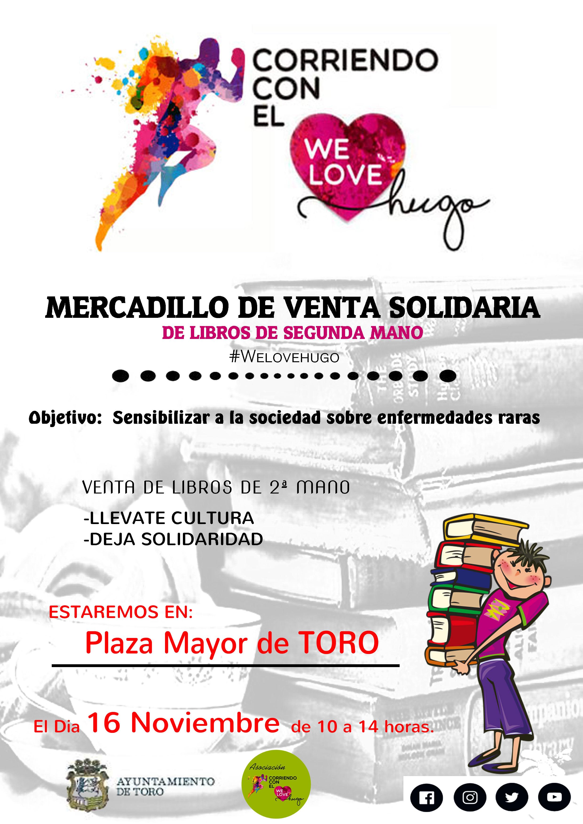 Mercadillo de libros Solidario en Toro