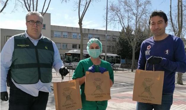 La Guardia Civil de Zamora rebasa fronteras y solidaridad