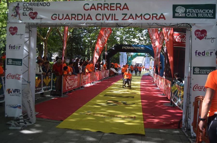 La Carrera de la Guardia Civil de Zamora recibe 900 inscripciones en las primeras horas de plazo