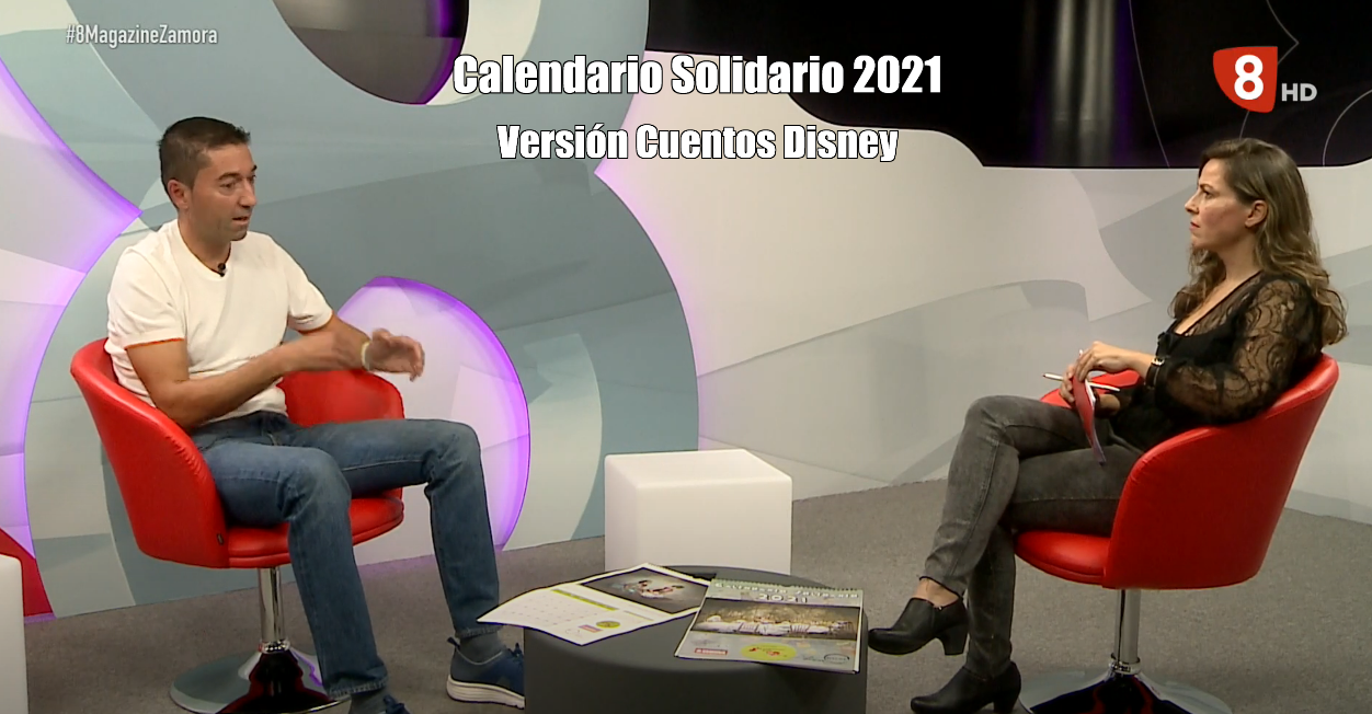 Calendario Solidario 2021, Versión Cuentos Disney – La 8 Zamora