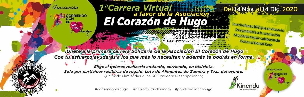 Que el COVID no frene tu solidaridad: participa en el Trofeo BTT provincia de Zamora desde cualquier lugar de España