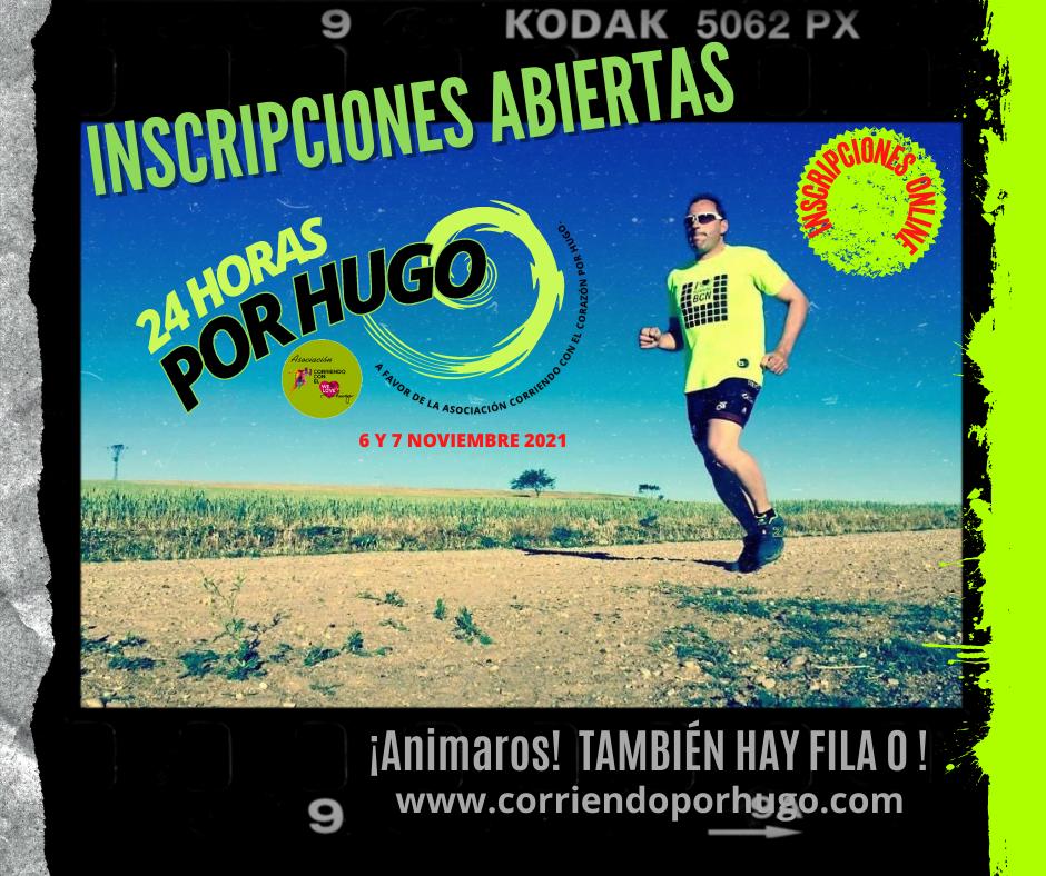 Abierto el plazo de inscripciones Gratuitas y Fila Cero para el Ultrafondo Solidario 24 Horas por Hugo