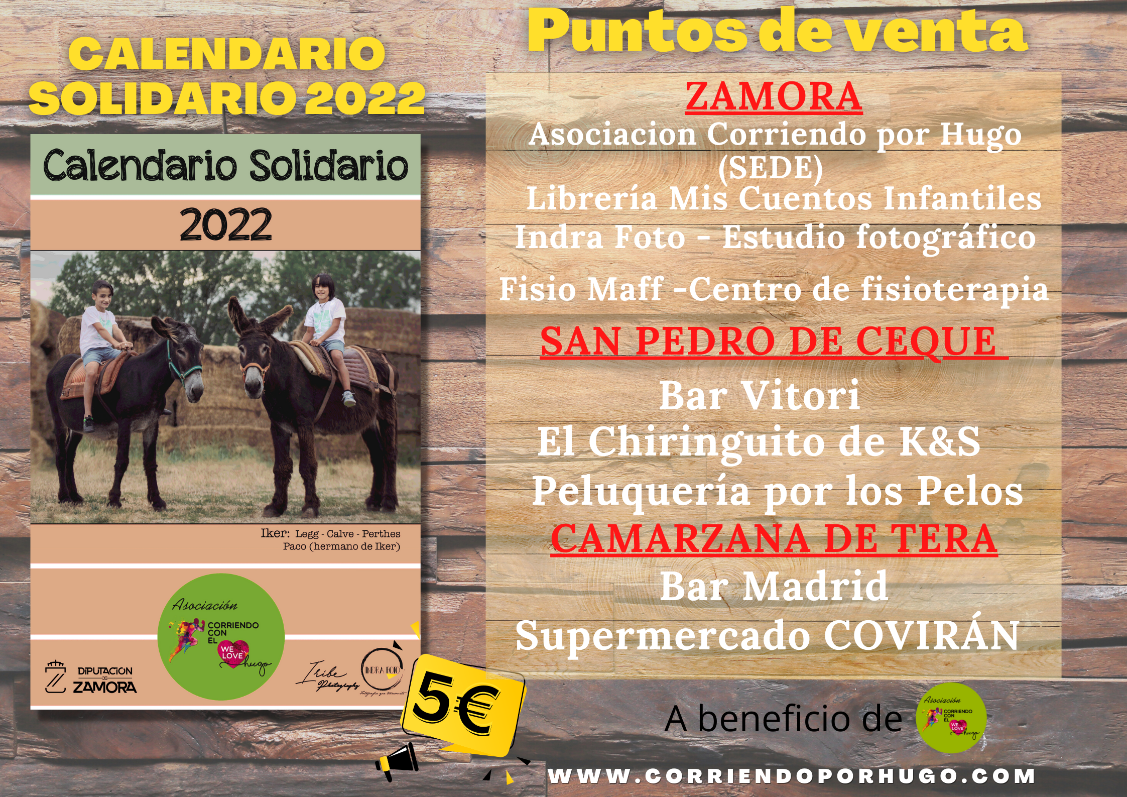 Puntos de VENTA Calendario Solidario 2022